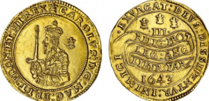 1643-Triple-Unite-Gold-Coin