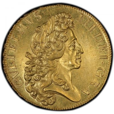 1701-5-guineas-william-iii-m63-obverse