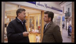 Nick Knowles Jordan Lott discuss Vigo 5 Guinea Gold Coin